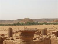 Image of area 100 within the Great Enclosure in Musawwarat es-Sufra, Sudan