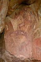 Rock art at the Kaoxa cave