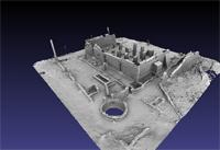 3D Model of Great Mosque, Gede, Kenya