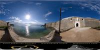 Panoramic image of Saint Sebastian Fortress, Mozambique