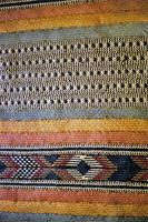 A beautifully woven mat made by the Pokomo people for sleeping.