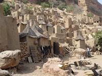 Image of settlement in Bandiagara, Mali