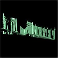 Point cloud of the northern section and northern gate of the Great Mosque in Djenne, Mali
