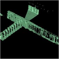 Point cloud of the Great Mosque in Djenne, Mali