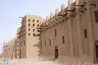 Photogrammetric image of the southern part of the Great Mosque in Djenne, Mali