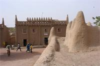 Photogrammetric image of the tomb A of the Great Mosque in Djenne, Mali