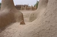 Photogrammetric image of the tomb B of the Great Mosque in Djenne, Mali