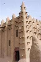 Photogrammetric image of the southern and eastern part of the Great Mosque in Djenne, Mali