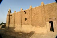 Image of the western part of the Great Mosque in Djenne, Mali