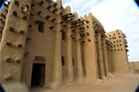 Image of the northern part of the Great Mosque in Djenne, Mali