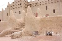 Image of the southern gate of the Great Mosque in Djenne, Mali