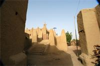 Image of the western gate of the Great Mosque in Djenne, Mali