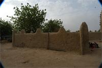 Photogrammetric image of the cemetery of the Great Mosque in Djenne, Mali