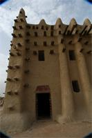 Photogrammetric image of the northern part of the Great Mosque in Djenne, Mali