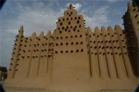 Photogrammetric image of the eastern part of the Great Mosque in Djenne, Mali