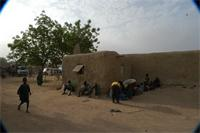 Photogrammetric image of the Great Mosque in Djenne, Mali