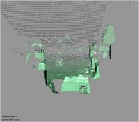 Point cloud of the interior court of Gereza in Kilwa Kisiwani, Tanzania