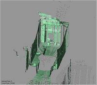 Point cloud of inside the main gate of Gereza in Kilwa Kisiwani, Tanzania