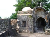 Image of Small Mosque in Kilwa Kisiwani, Tanzania