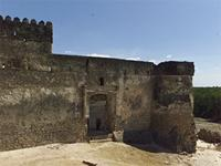 Photogrammetric image of the east side of the Gereza in Kilwa Kisiwani, Tanzania