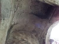 Photogrammetric image of the barrel-vaulted ceiling of the Great Mosque in Kilwa Kisiwani, Tanzania