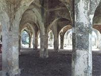 Photogrammetric image inside the large extension on the south side of the Great Mosque in Kilwa Kisiwani, Tanzania
