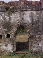 Photogrammetric image of the east entrance of the Great Mosque in Kilwa Kisiwani, Tanzania