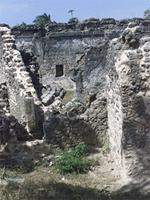 Photogrammetric image of the north side of the Great Mosque in Kilwa Kisiwani, Tanzania