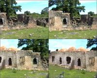 Video of the west side of the Great Mosque in Kilwa Kisiwani, Tanzania