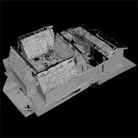 High resolution model of the Besease Temple, unedited version