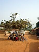 Image of the area around the shrines near Kumasi, Ghana
