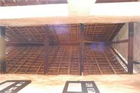 Photogrammetric image of the ceiling and southern part of Besease Shrine in Ejisu, Ghana