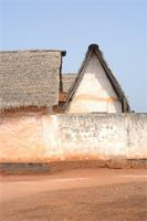 Photogrammetric image of the western part of Besease Shrine in Ejisu, Ghana