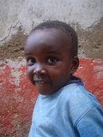Image of a child in Lamu Town, Keyna