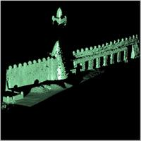 Point cloud of the main tower and eastern part of Djingereyber in Timbuktu, Mali