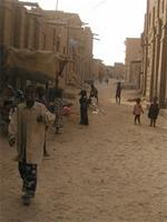 Image of children on the streets of Timbuktu, Mali
