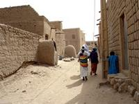 Image of the streets in Timbuktu, Mali