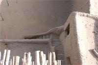 Photogrammetric image of the open courtyard of Djingereyber in Timbuktu, Mali