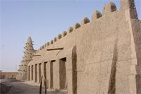 Photogrammetric image of the northern part and eastern part of Djingereyber in Timbuktu, Mali