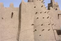 Photogrammetric image of the eastern part of Djingereyber in Timbuktu, Mali