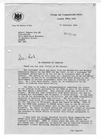 [Letter from Malcolm Rifkind to Robert Hughes]