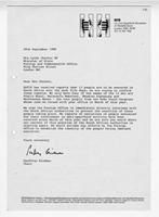 [Letter from Geoffrey Bindman to Lynda Chalker]