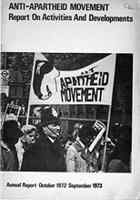 Anti-Apartheid Movement Report on Activities and Developments