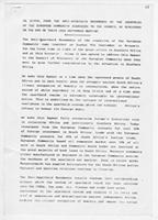 An Appeal from the Anti-Apartheid Movements of the Countries of the European Community Addressed to the Council of Ministers on the Eve of their 10th September Meeting