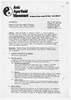 Minutes of the National Committee meeting