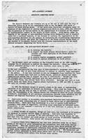 Anti-Apartheid Movement Executive Committee Report