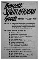 Boycott South African Goods