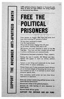 Free the Political Prisoners