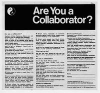 Are You a Collaborator?