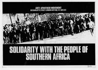Solidarity with the People of Southern Africa